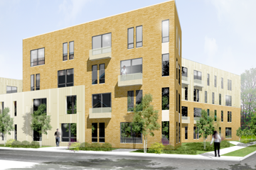 TRP Plans 45 Apartments at 17th and Damen