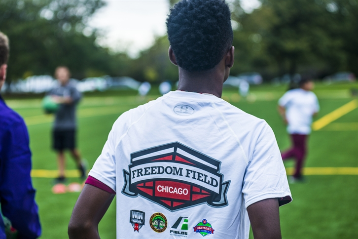 Opening Day: Cubs/LISC Help Ripken Foundation Create 'Freedom Field' in Marquette Park