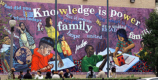 Is ncp working how and why lisc chicago for Chicago mural group